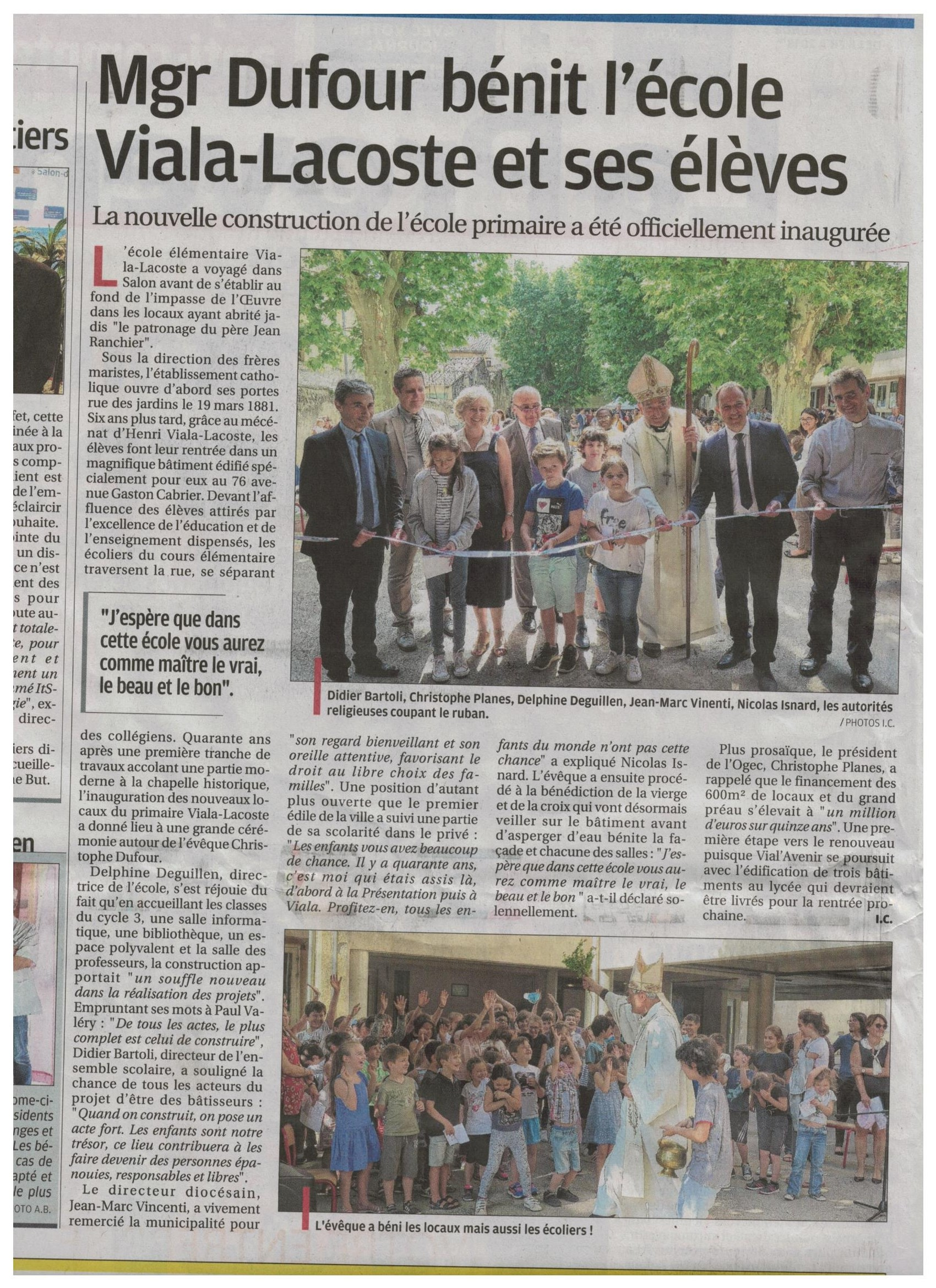 article inauguration Provence 001